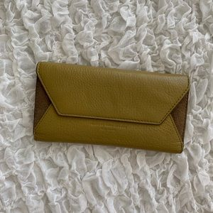 Marc by Marc Jacobs Olive Suede Leather Wallet